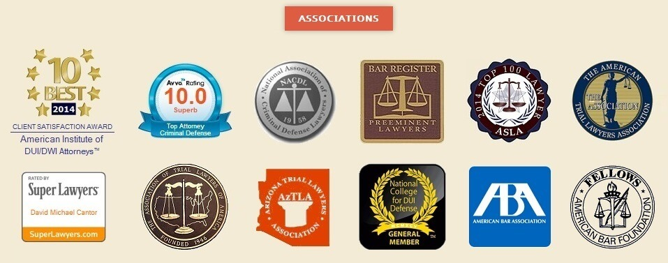 Arizona Defense Law Firm Associations and Awards